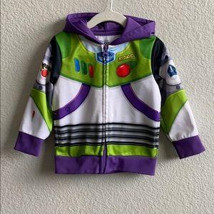 Buzz Lightyear Hoodie/ Jacket. Size 2T